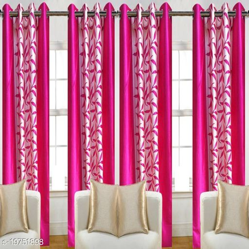 Newleaf Trends (5 ft) Polyester Window Curtain (Pack Of 2)
