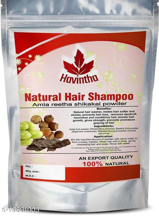 Havintha Amla Reetha Shikakai Powder Natural Hair Shampoo for Hair