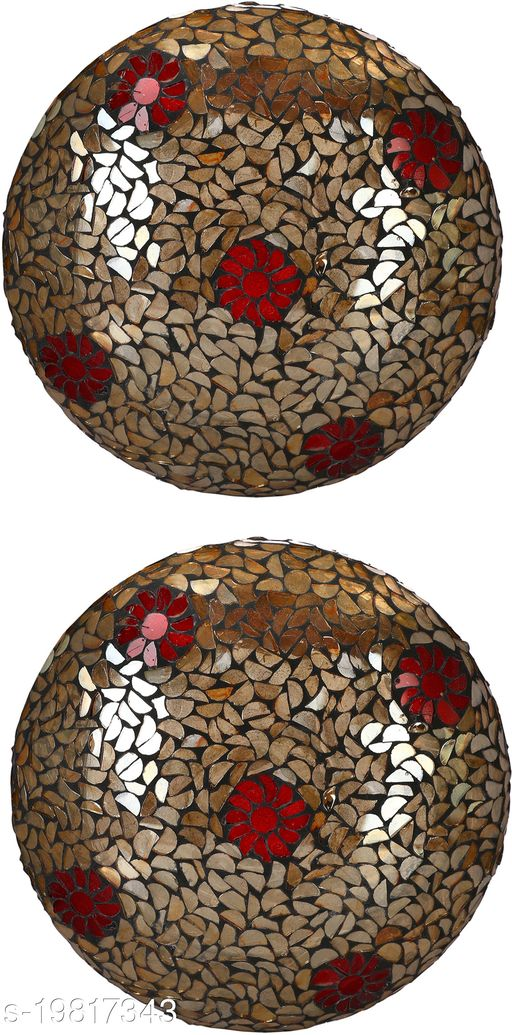 Afast New Design Glass Round Ceiling Lamp Hand Decorative with Coorful Chips & Beads-69