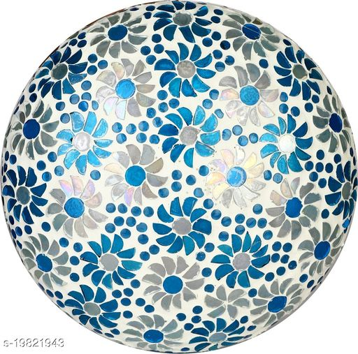 Afast New Design Glass Round Ceiling Lamp Hand Decorative with Coorful Chips & Beads-83