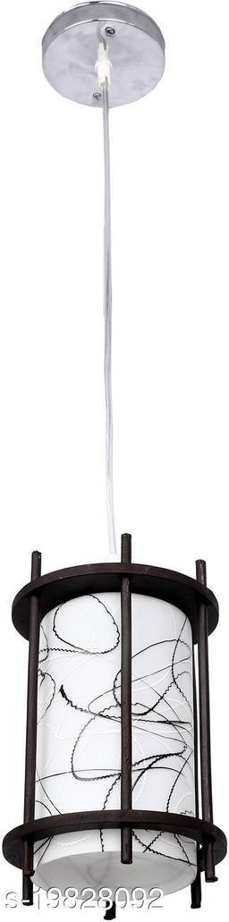 Afast Designer Pendant Hanging Ceiling Lamp Light With Designer Wooden Box & All Fitting -Wd23