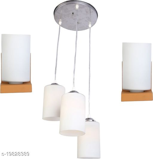 Afast Combo Of 2 Wall Lamp & One Triple Hanging