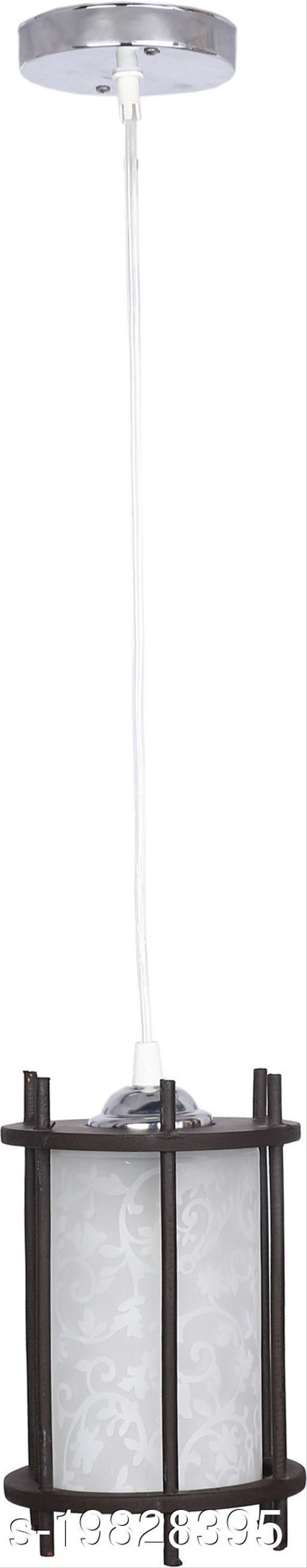 Afast Designer Pendant Hanging Ceiling Lamp Light With Designer Wooden Box & All Fitting -Wd25