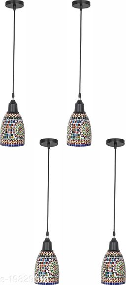 Afast New Launch Decorative Pendant Hanging Ceiling Lamp Ornamented With Colorful Chips & Beads With Magical Effects-ND31