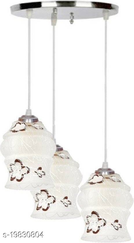 Afast Pandans Hanging  Ceiling Light Of Stylish Colorful & Decorative Three Glass Shade Lamp-DR37