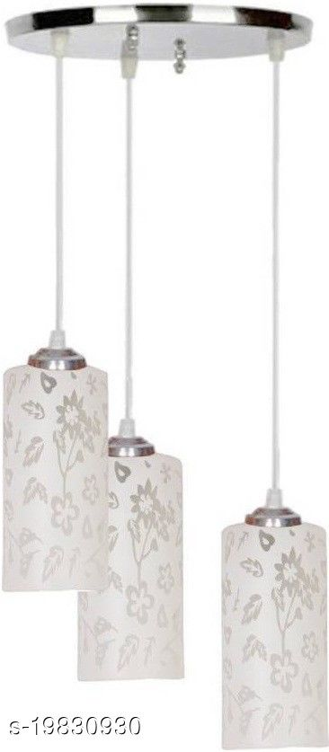 Afast Pandans Hanging  Ceiling Light Of Stylish Colorful & Decorative Three Glass Shade Lamp-DR09