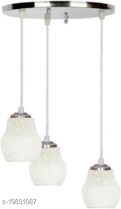 Afast Pandans Hanging  Ceiling Light Of Stylish Colorful & Decorative Three Glass Shade Lamp-DR14