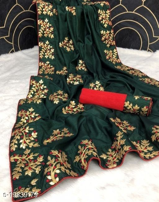 BEST SELLING DOLA ALL OVER HEAVY PAPER GOTTA WORK SAREE WITH BORDER LACE BLOUSE