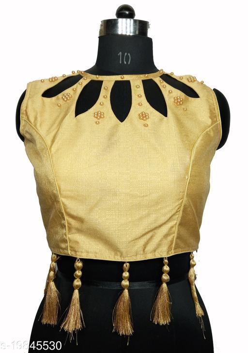 Almond Cutt Designed Latkan Women's Blouse
