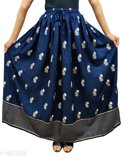 Trendy Pretty Women Ethnic Skirts