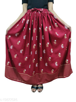 Adrika Pretty Women Ethnic Skirts
