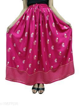 Aagam Sensational Women Ethnic Skirts
