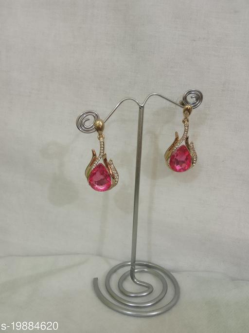 Feminine Glittering Earrings