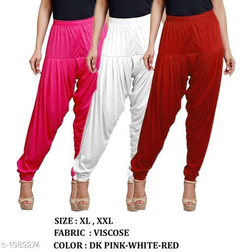 Fabulous  Women's Patiala Pant ( Pack Of 3 )