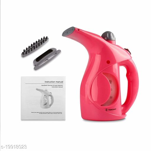 Fast Heat-up Portable Handheld GarmentFacial Vapor Steamer Iron Brush for Home and Travel Handy (colour may vary)