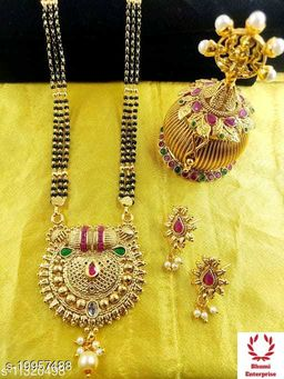 Bhumi09 Gold Plated  Mangalsutra Best Quality For Women