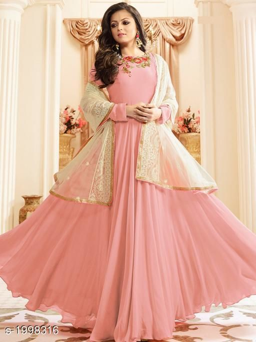 Attractive Faux Georgette Suits & Dress Material