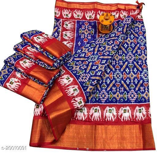 Pochamplly Patola Saree