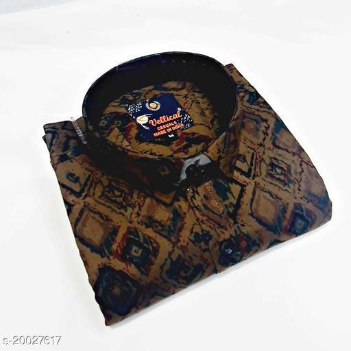 cot n zip printed shirt