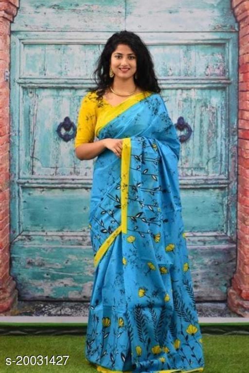 printed cotton mul_mul sarees