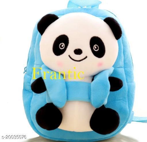 Frantic Kids Plush Bag for Prenursery/Nurseary/Picnic/Birthday (SkyBigPanda)