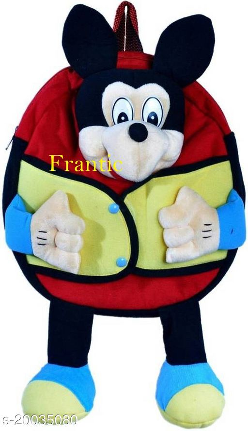 Frantic Kids Plush Bag for Prenursery/Nurseary/Picnic/Birthday (Jonni)