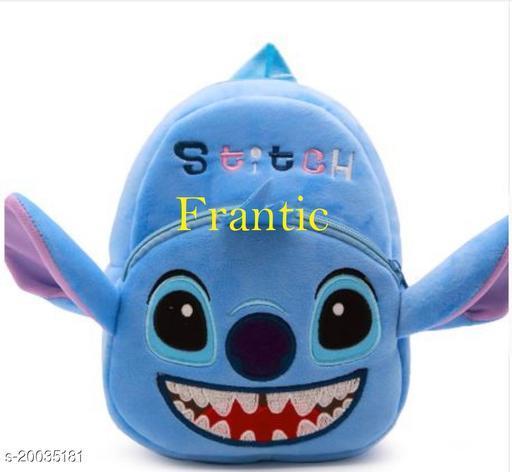 Frantic Kids Plush Bag for Prenursery/Nurseary/Picnic/Birthday (SkySwitchi)