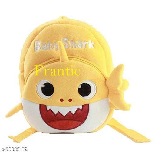 Frantic Kids Plush Bag for Prenursery/Nurseary/Picnic/Birthday (YellowBabyShark)