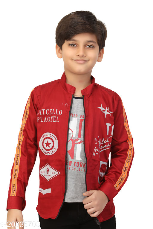 FOREVER YOUNG BOY'S Jacket With t-shirt