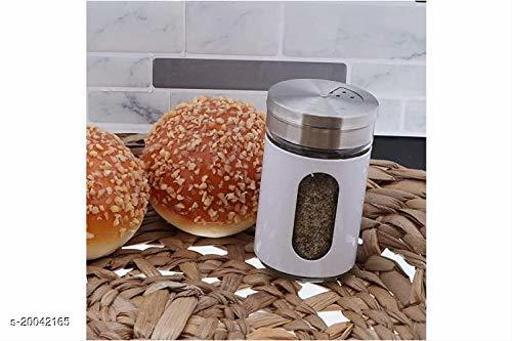 Graceful Salt & Pepper Shakers