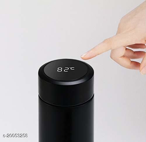 Flask Water Bottle LED Temperature Display Japanese Vacuum Thermos 500ML