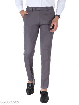 SREY DARK GREY OLIVE Formal Trouser