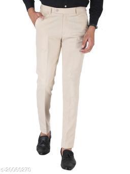 SREY LIGHT CAMEL CREAM Formal Trouser