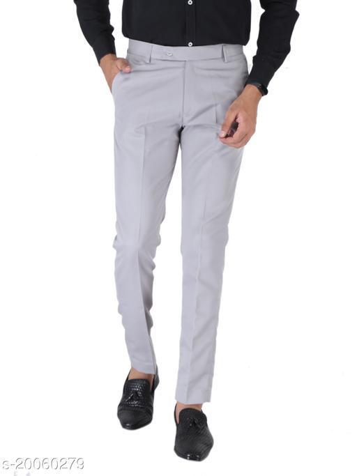 SREY OLIVE GREEN Formal Trouser