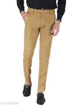 SREY KHAKI Formal Trouser