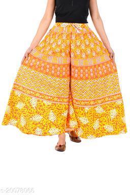 Unique Choice 100% Pure Cotton Jaipuri Printed Palazzos