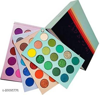 Eyeshadow Palette 60 Colors Mattes And Shimmers High Pigmented Color Board Palette Long Lasting Makeup Palette