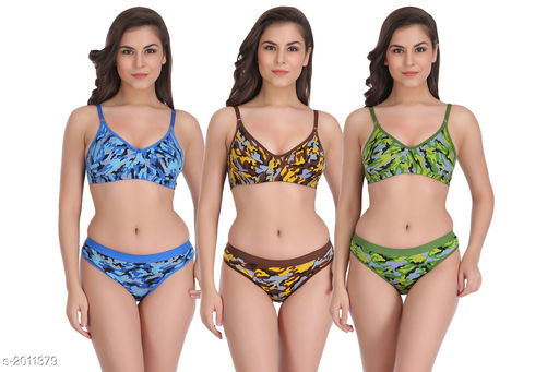 Women's Abstract Hosiery Lingerie Sets
