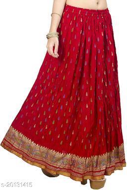 DIAMO traditional ethnic Wear Long Skirt