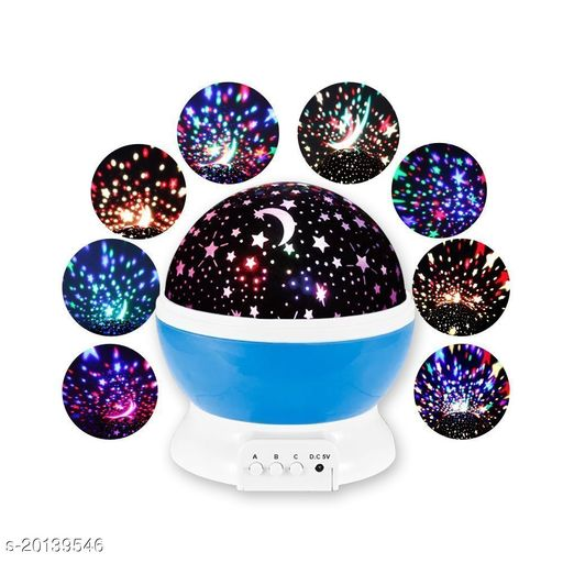 Star Master Dream Rotating Projection Lamp, Star Master Projector Lamp with USB Wire Turn Any Room Into A Starry Sky Colorful LED Night Lamp, Night Bulb, Night Light pack of 1