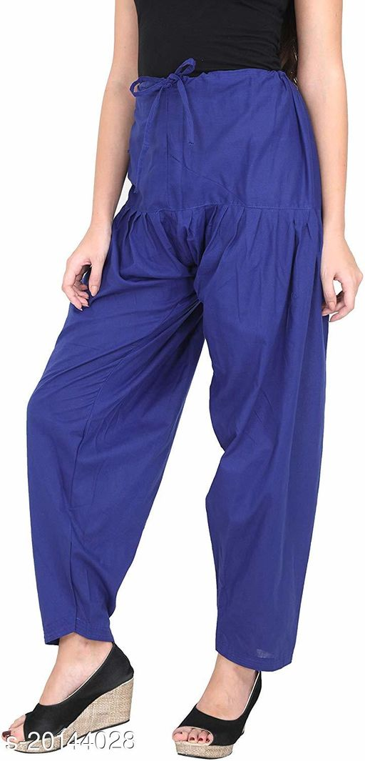 Style Pitara beautiful Patiala Salwar for Girls & Women of Size 28 to 36 & Free Size of Blue Color