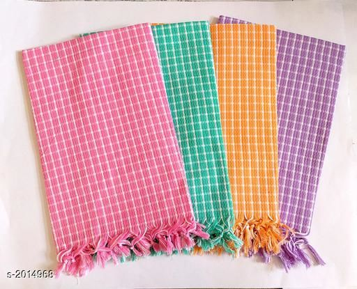 Beautiful Cotton Bath  Towels (pack of 4)