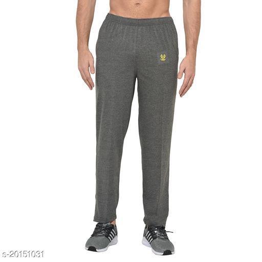 VIMAL JONNEY Solid Men Grey Track Pants ()