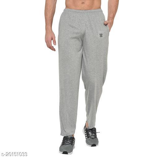 VIMAL JONNEY Solid Men Silver Track Pants ()