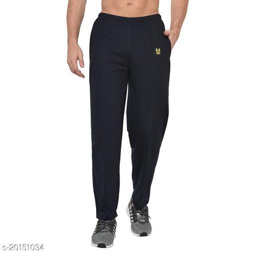 VIMAL JONNEY Solid Men  Blue Track Pants ()