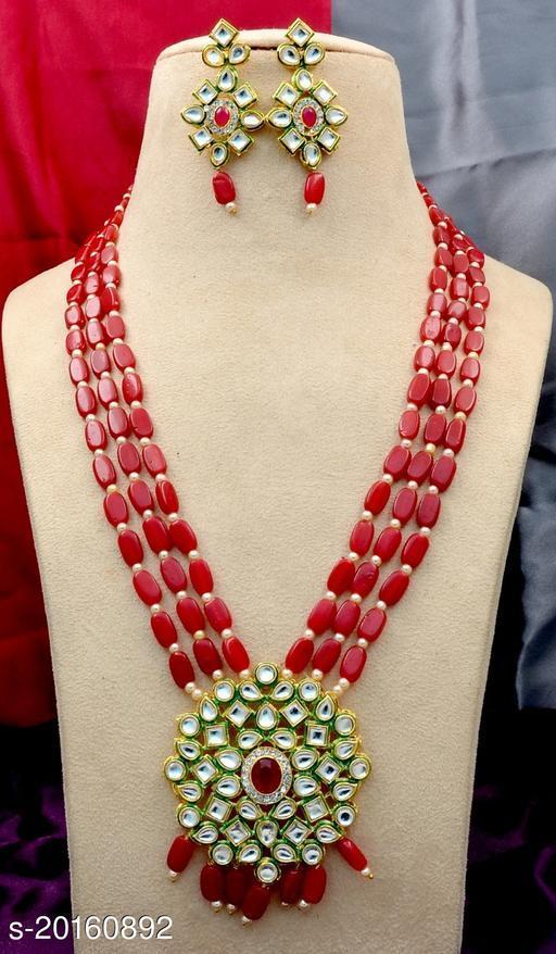 Jivika Glittering Women Necklaces & Chains