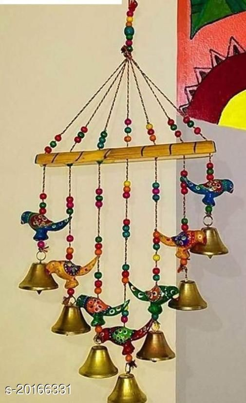 Beatiful Parrot Design Windchimes for Home Decor (Pack Of 1)
