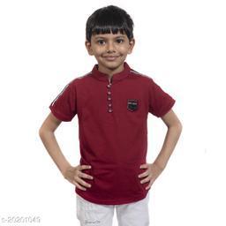 BOY'S DESIGNER T-SHIRT HALF SLEEVE