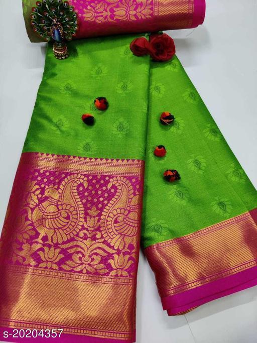 Trendy Soft south silk maharastrian type cotton silk paithani silk saree