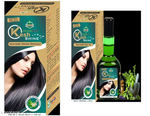 Hair Care Ayurvedic Hair Care Oil & Shampoo Combo ( Pack Of 2 )  *Product Name* Useful Hair Care Ayurvedic Hair Care Oil & Shampoo Combo  *Product Type* Shampoo & Hair Oil  *Capacity* 120 ml Each  *Description* It Has 1 Pack Of Hair Care Herbal Shampoo & 1 Pack Of Hair Care Oil  *Sizes Available* Free Size This product has very limited stock. Order fast! *    Catalog Name: Ayurvedic Hair Care Oil & Shampoo Combo Vol 1 CatalogID_267172 C50-SC1249 Code: 142-2020508-